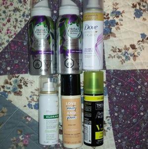 Set of 6 Travel Sized Dry Shampoo NEW